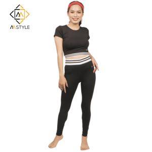 Đồ tập gym yoga nữ set áo lửng quần dài
